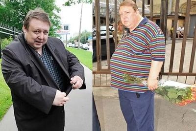 Александр Семчев похудел - фото ДО и После