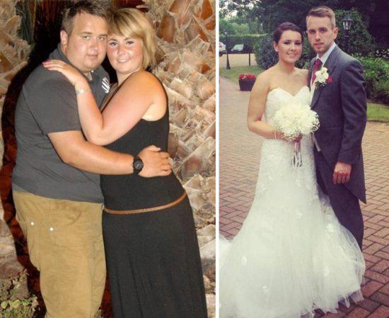 Фото полных людей до и после похудения фото