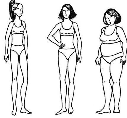 Идеальная фигура девушки, параметры телосложения и женские пропорции тела