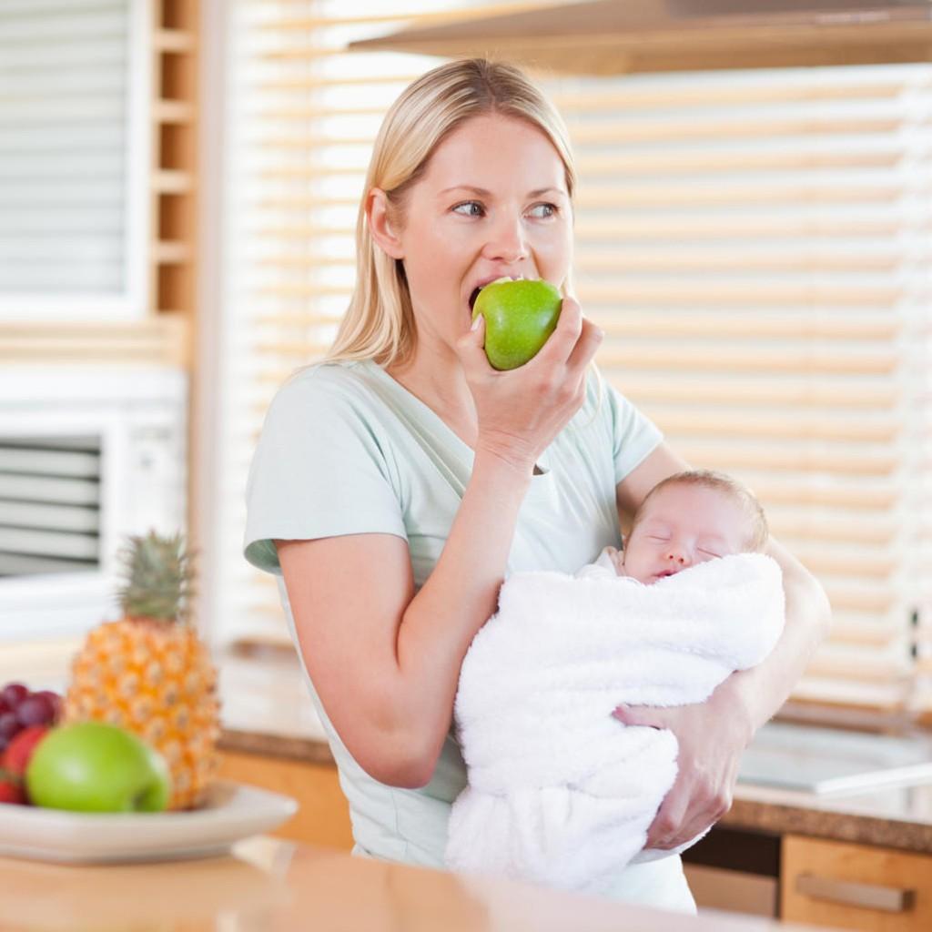 Как похудеть кормящей матери