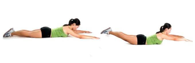 Упражнения для стройности спины