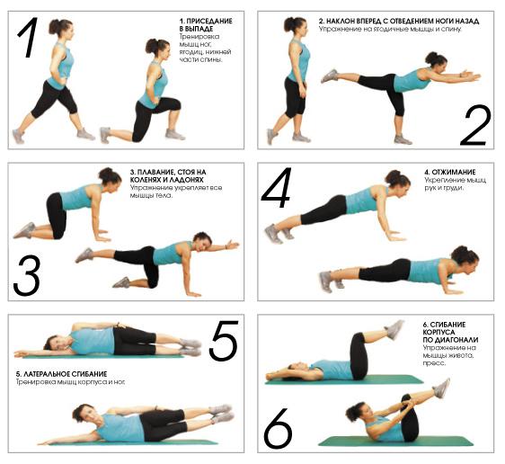 Самые простые упражнения