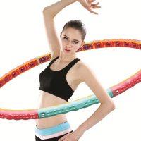 Обруч для похудения талии, боков и бедер: как выбрать вид обруча для эффективных занятий?