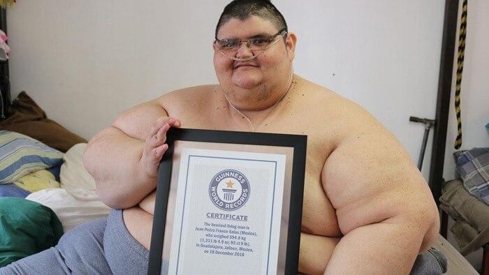 Самый толстый человек голые