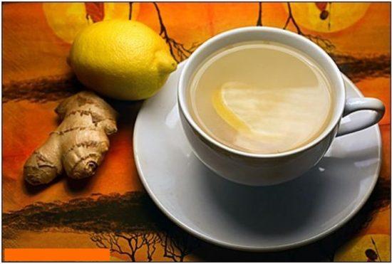 Чай с имбирем