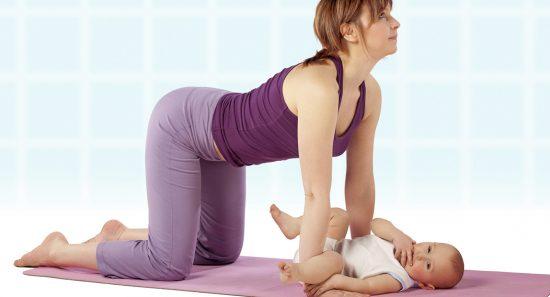 Как убрать живот через 7 месяцев после родов