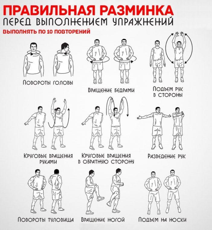 Комплекс упражнений для похудения дома на каждый день для женщин