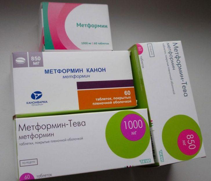 Метформин можно принимать для похудения