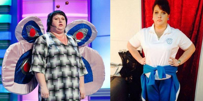 ольга картункова фото до и после похудения фото