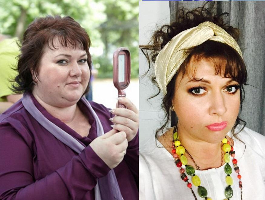 Ольга Картункова похудела на 40 кг, фото 2018 До и После